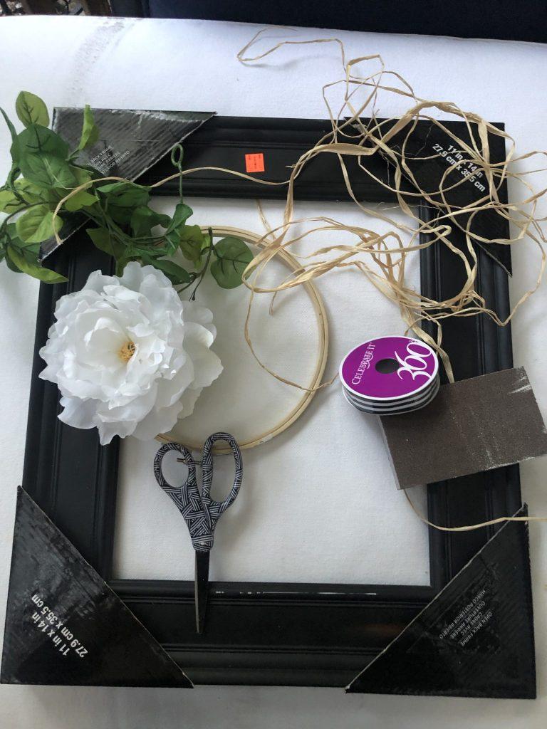 Learn how to make fall farmhouse wreath