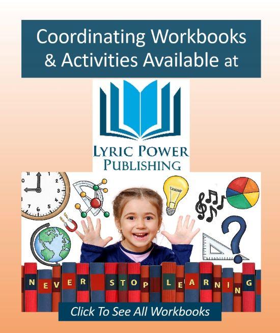 graphic for workbooks at Lyric Power Publishing