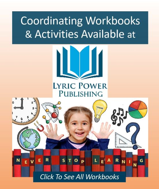 graphic for workbooks at Lyric Power Publishing