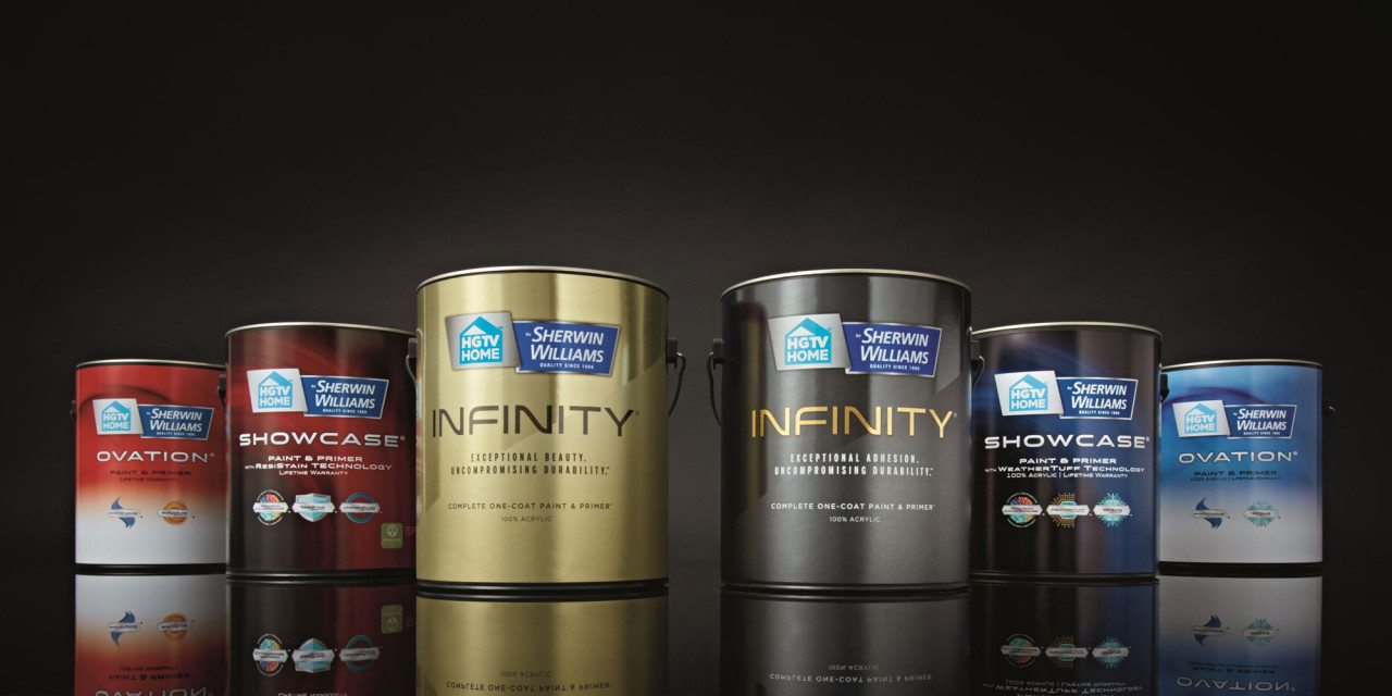 Sherwin-Williams adds premium 'INFINITY' Label to HGTV HOME line