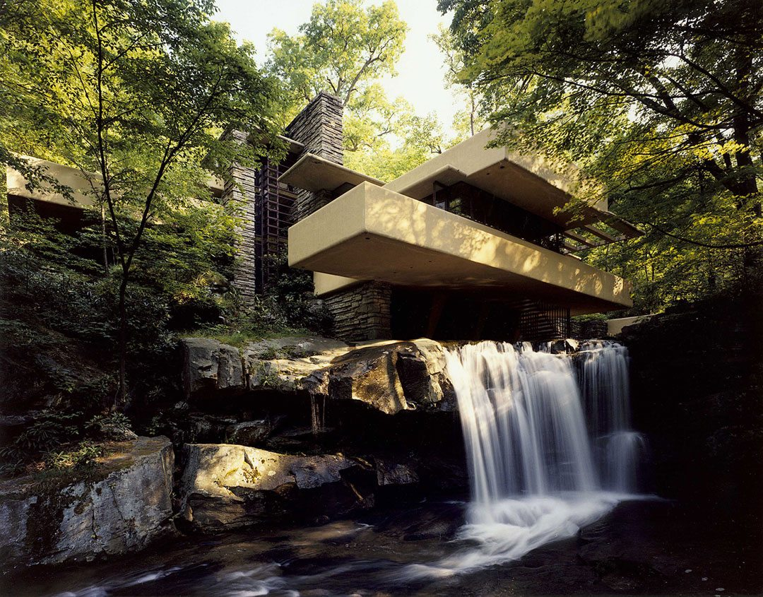 Fallingwater. Corsini Classic Summer 600. Courtesy of the Western Pennsylvania Conservancy
