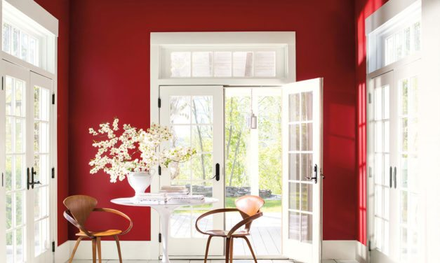 """Benjamin Moore reveals """"Caliente AF-290"""" as its Color of the Year 2018"""