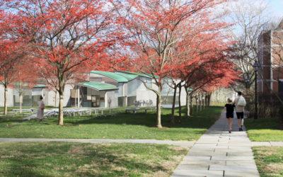Institute for Advanced Study hosts groundbreaking ceremony for Rubenstein Commons