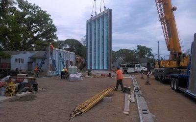 N.J. Builder Relies on Precast Concrete Panels for Commercial Project