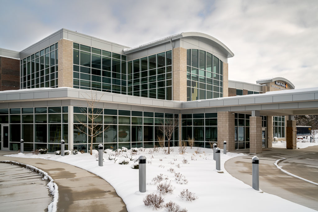 Health Pointe, a new integrated healthcare facility in Grand Haven, MI. Photo: Joseph Stanford Photography