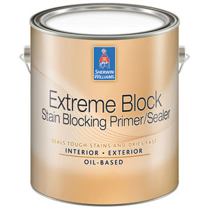 Sherwin-Williams introduces Extreme Block™ stain blocking Primer/Sealer