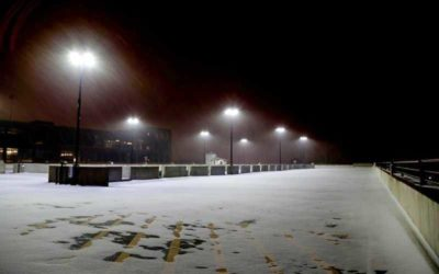 Protecting parking structures from damage during winter