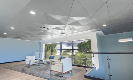 MetalWorks™ Torsion Spring Shapes add new dimension to ceiling designs