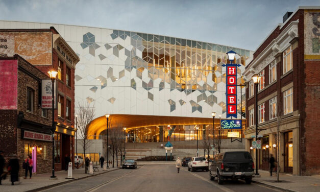 PPG DURANAR coatings add distinctive effects to façade of Calgary Central Library