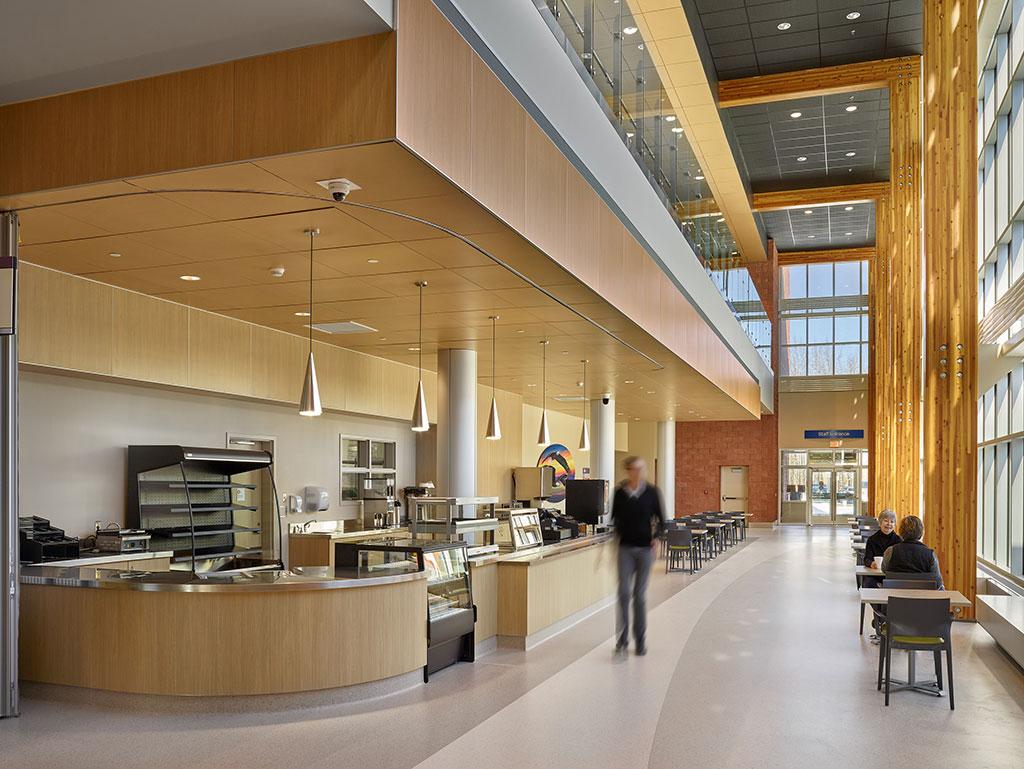 High Prairie Health Centre in High Prairie, Alberta. Photo credit: Merle Prosofsky
