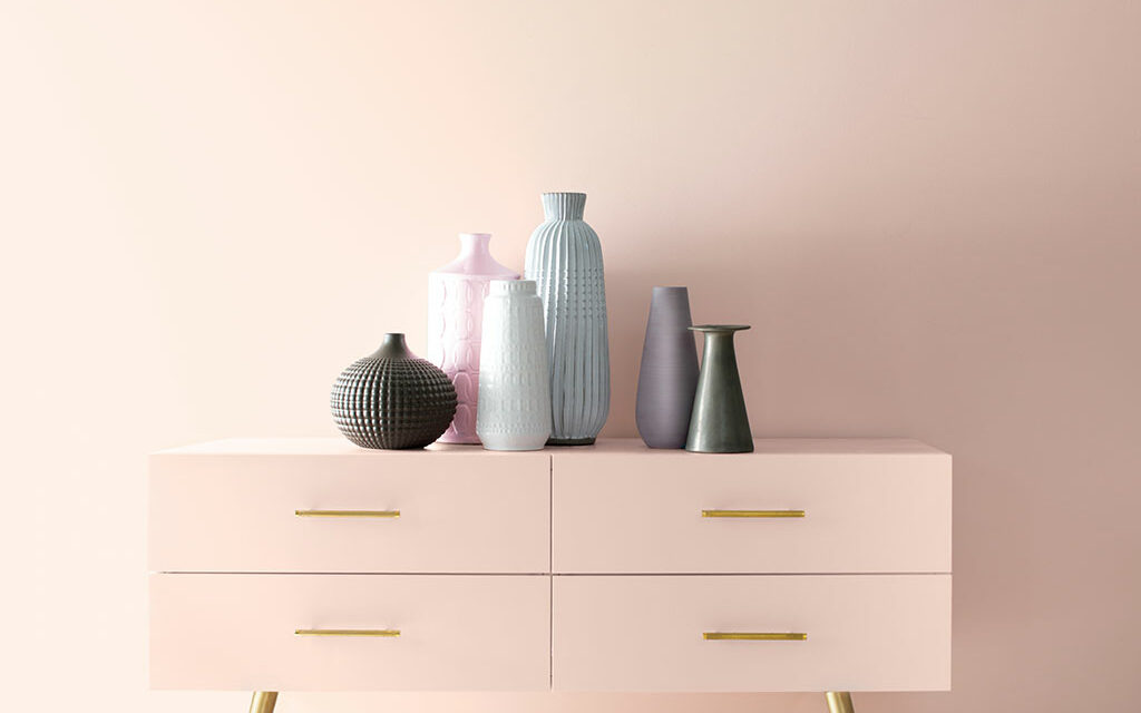 """Benjamin Moore welcomes a new decade with """"First Light 2102-70,"""" its Color of the Year 2020"""