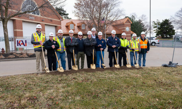 KAI Build breaks ground on renovation, addition to Maryland Heights Fire Protection District Headquarters Engine House One