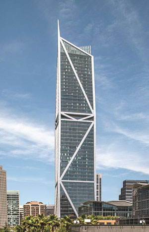 """San Francisco Chronicle calls 181 Fremont Tower """"the people's choice"""". Photography by Tom Kessler"""