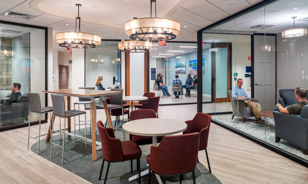 Margulies Perruzzi designs award-winning patient experience for Home Base Veteran and Family Care Center