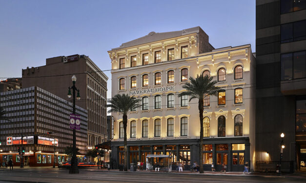 Trapolin-Peer Architects-designed Sazerac House, a historic renovation in New Orleans