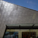 Arc'teryx's flagship store in Vancouver features zinc panel façade inspired by nearby mountains