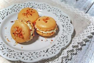 Coconut Cream French Macarons