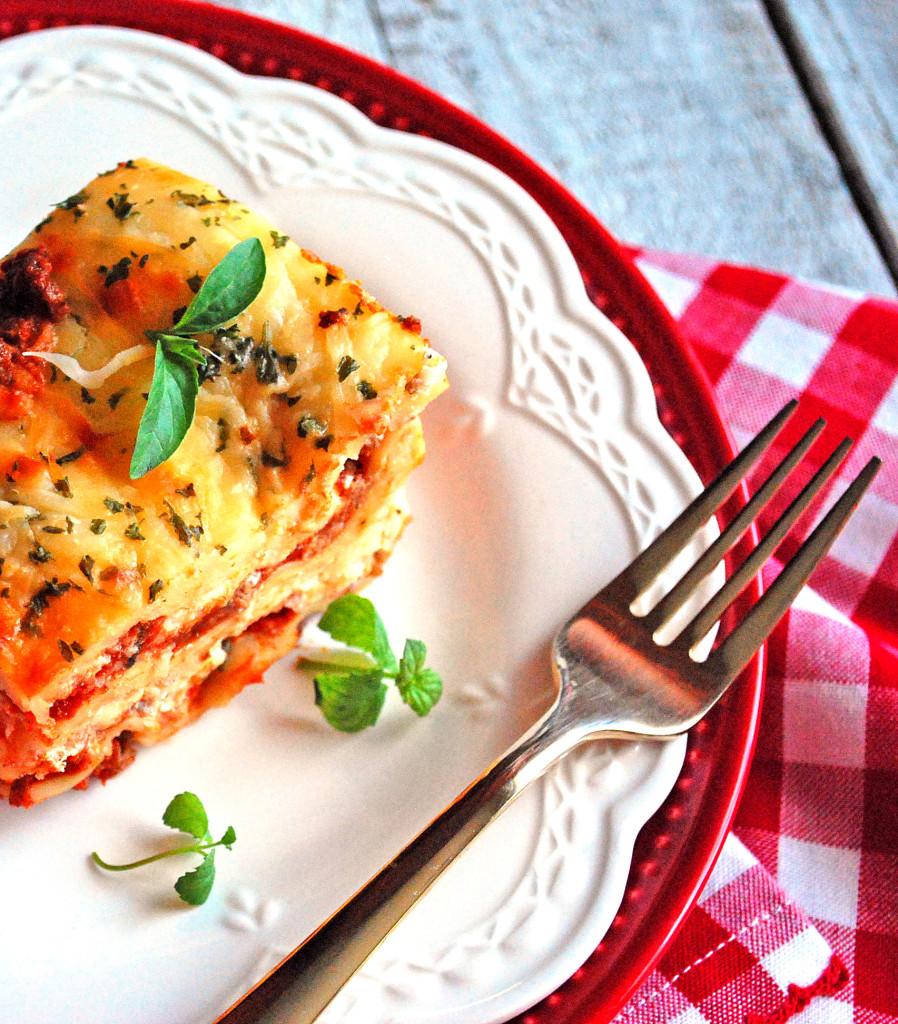 Marvelous Mushroom Lasagna