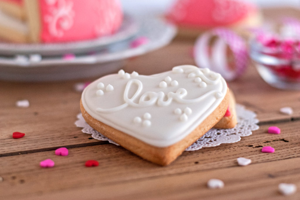 Soft Valentine's Day Sugar Cookies