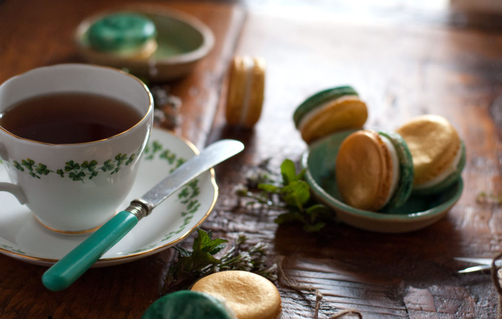 Bit 'O Green French Macarons