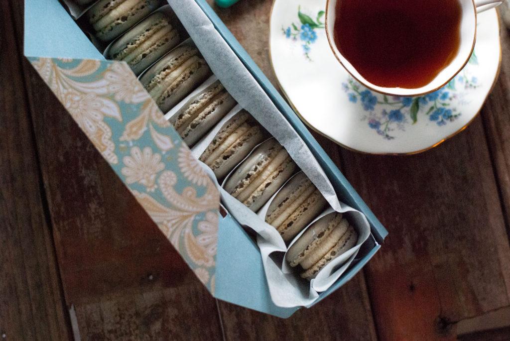 Earl Grey French Macarons