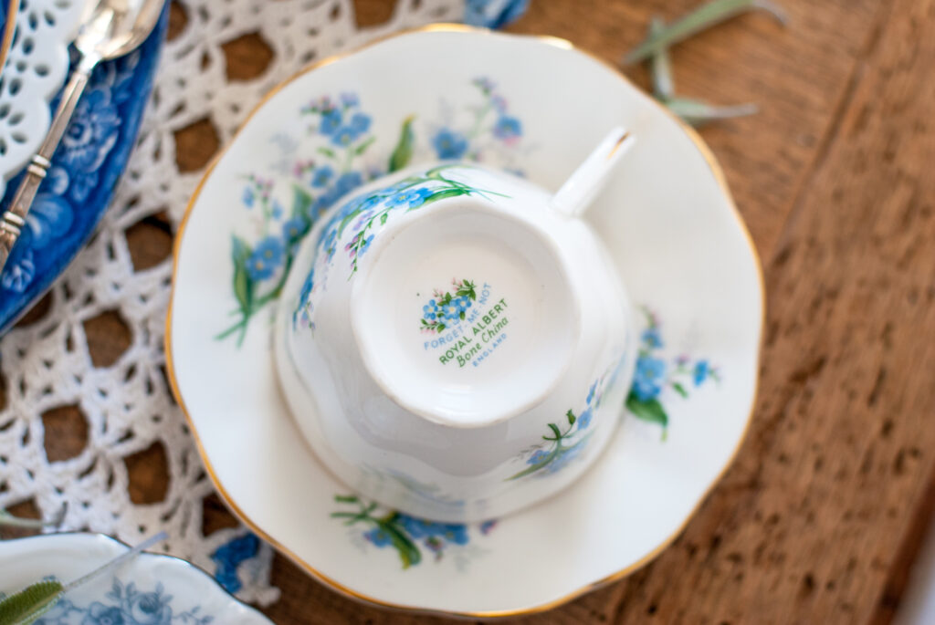 Teacups and Kitchen Tables
