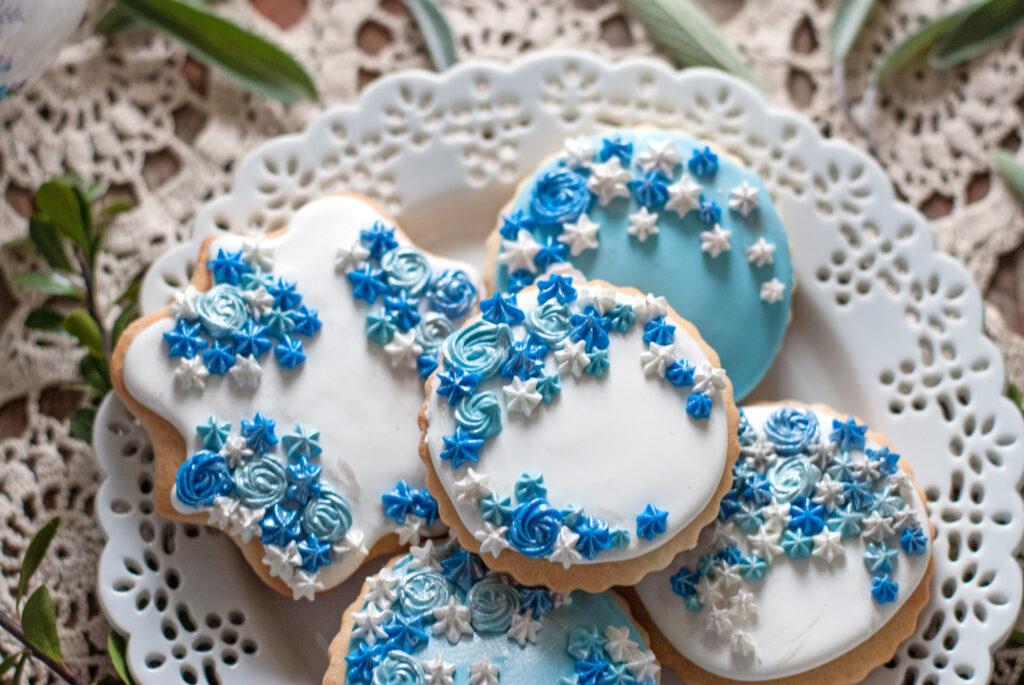 Got the Blues Sugar Cookies