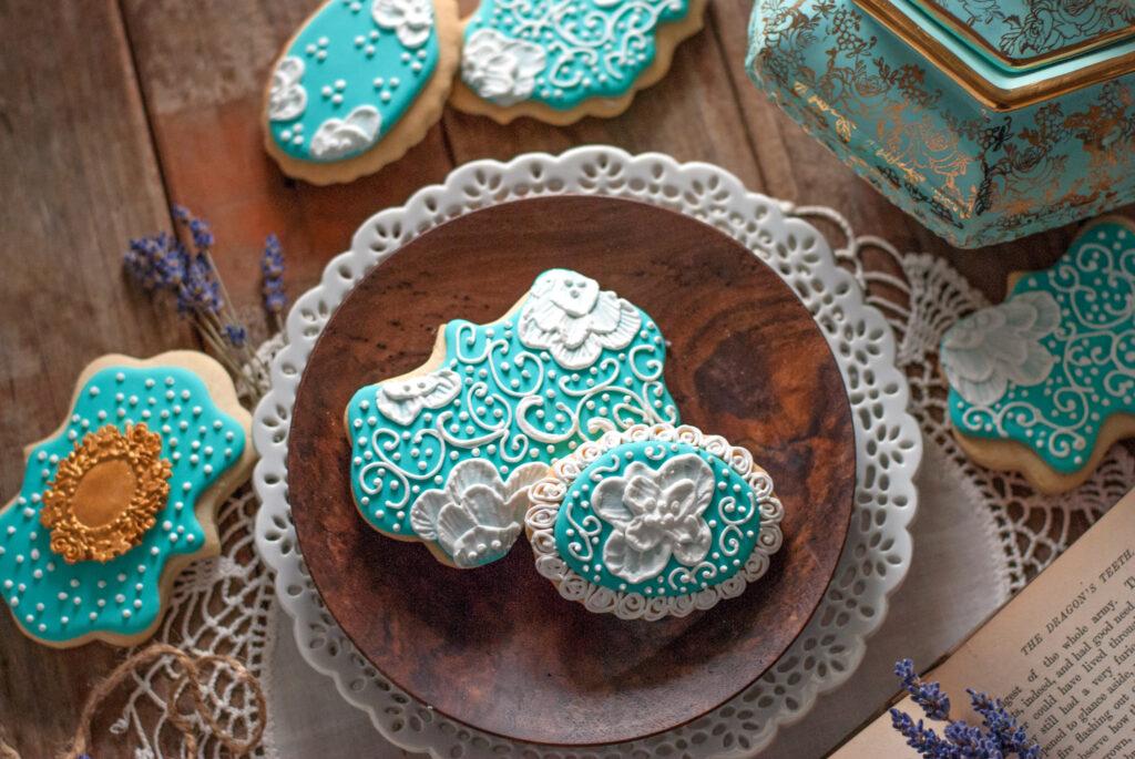 Turquoise Tea Cookies