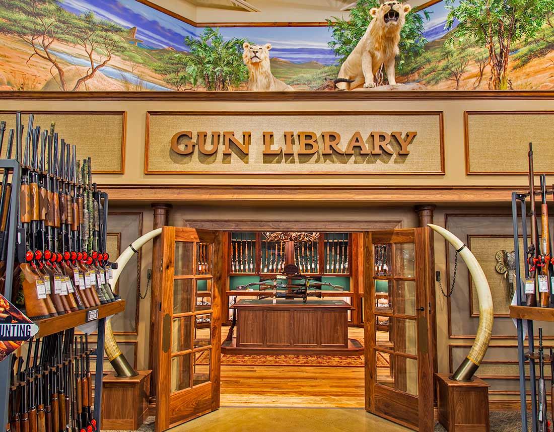 Cabelas Gun Library
