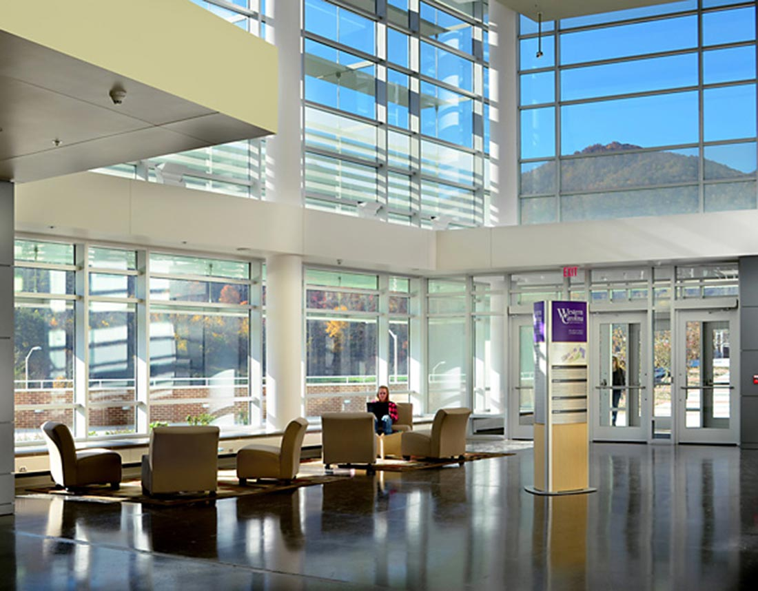 WCU Health and Science Building - Lobby