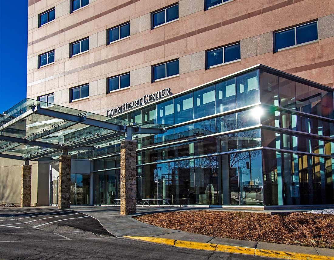 Heart Center Entrance