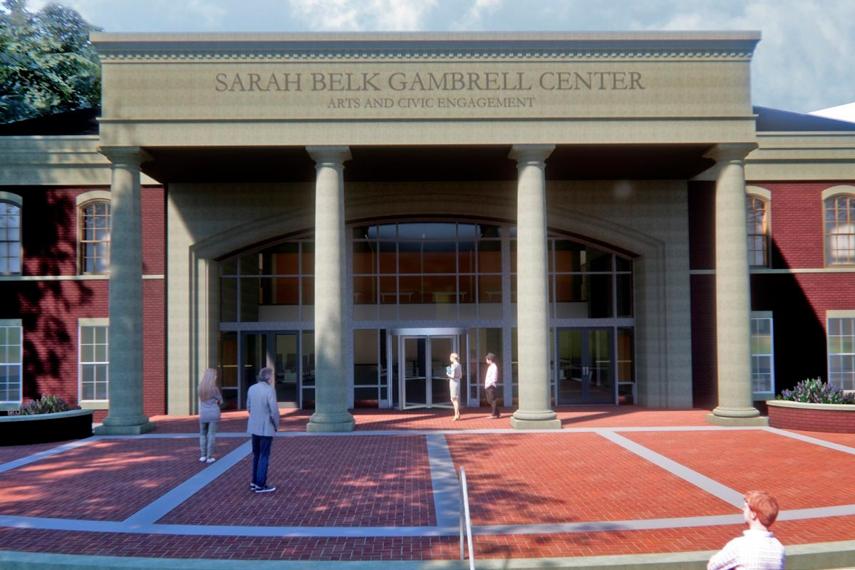 Queens University - Sarah Belk Gambrell Center for the Arts Civic Engagement