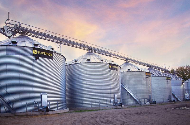 Grain Farm Bins