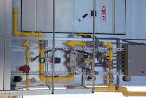 Excel Grain Dryer Gas Train