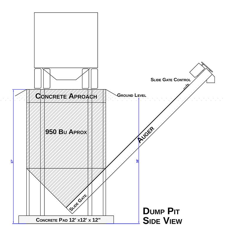 Drive Over Dump Pits - J & R Grain Solutions
