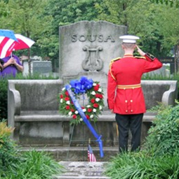 Sousa's Tombstone at Historic Congressional Cemetery