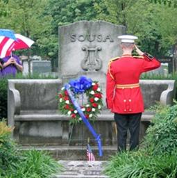 Marine Salute Sousa Grave