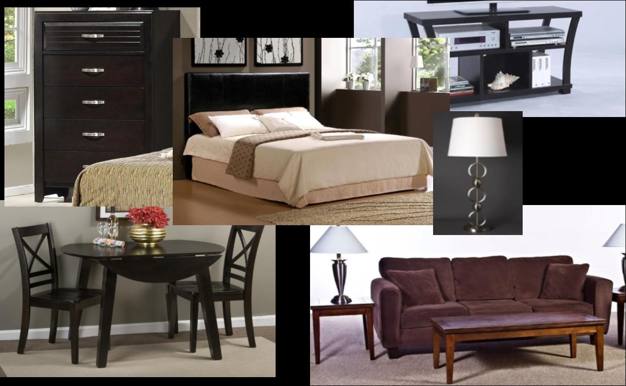 Aventura 2 Bedroom Furniture Package [BUDGET]
