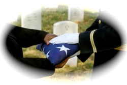 Burial Flag picture