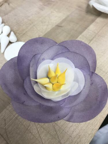 flower decoration wafer paper 1