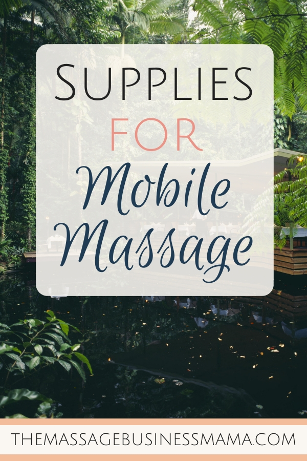 Outcall, Mobile of Onsite Massage
