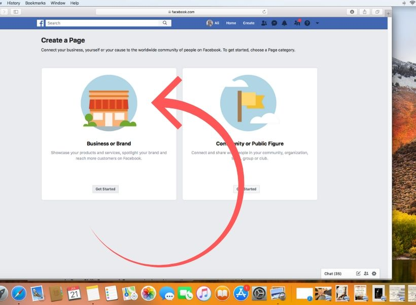How to setup a business page on Facebook for your massage therapy practice.