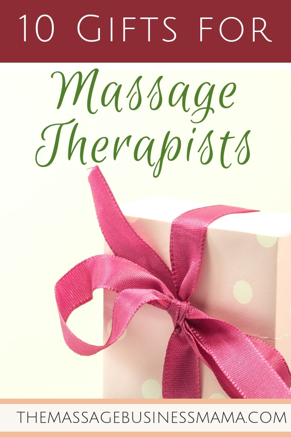 Massage Therapist Gift Giving Guide