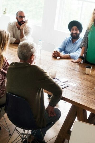 How to become comfortable at a networking event.