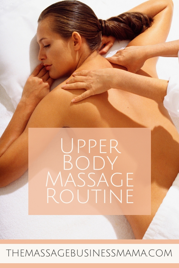 How to Give a Killer Upper Body Massage