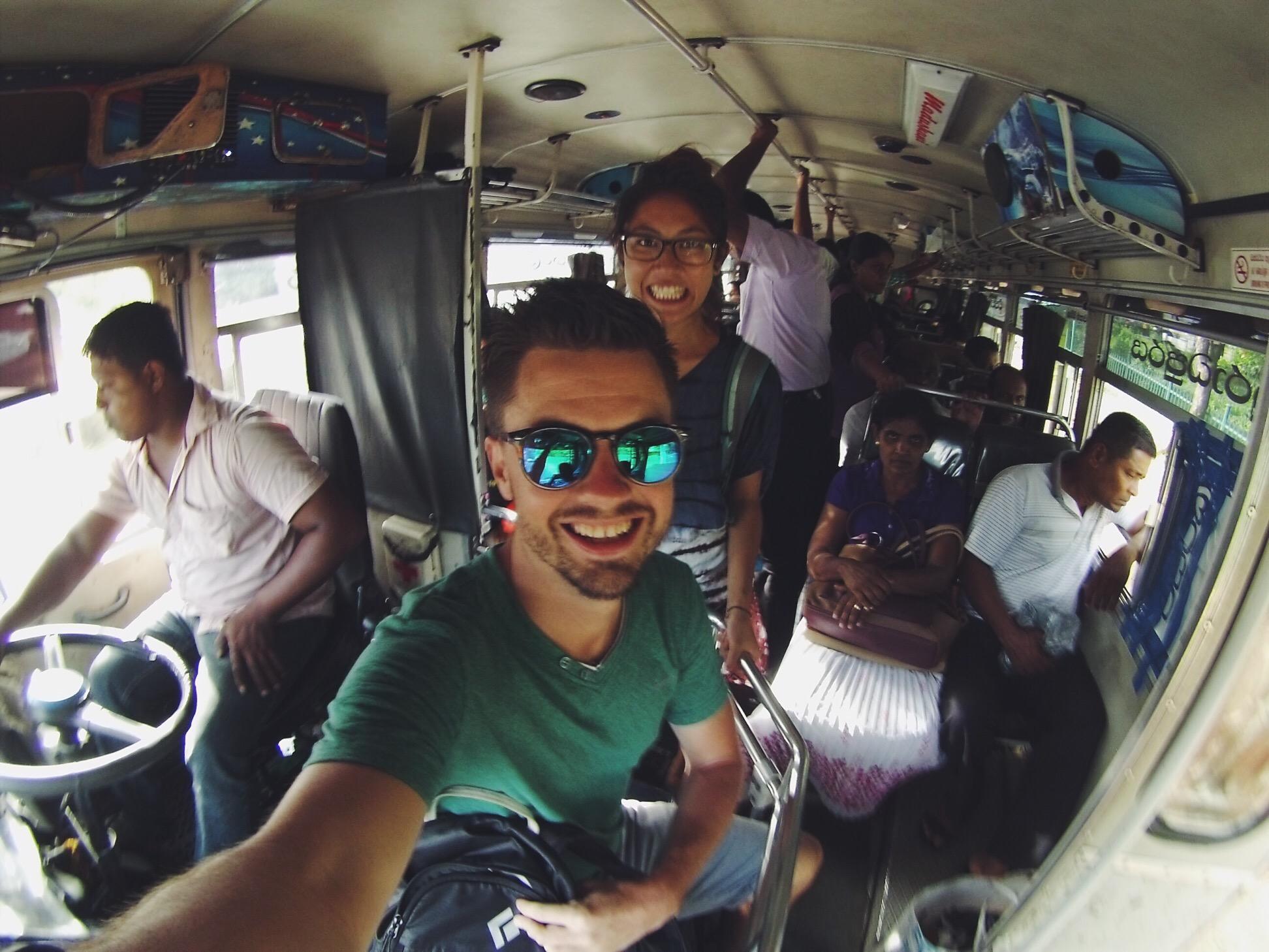 Sri Lanka Buses | How to get to Sigiriya