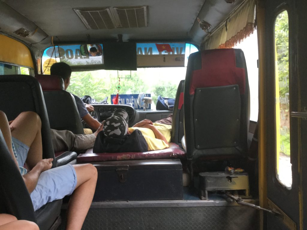 Bus from Sapa to Muang Khua | Laos border fees | Vietnam to Laos – How to Travel by Bus from Sapa to Muang Khua