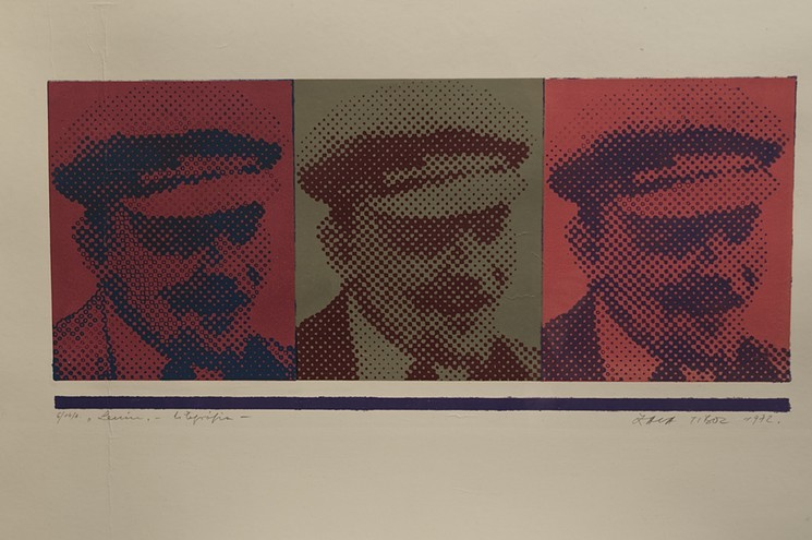 Lenin, 1972 (lithograph)