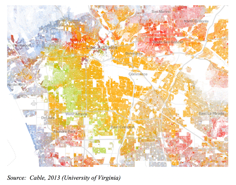 Racial segregation in Los Angeles