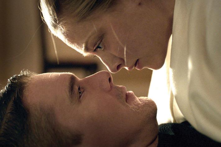 """Ethan Hawke, Amanda Seyfried in """"First Reformed."""" (A24)"""